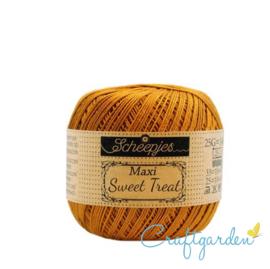 Scheepjes - maxi sweet treat - katoen - 25 gram -  Ginger Gold - 383