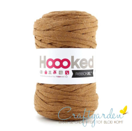 Hoooked-RIBBONXL-250 gram -caramel brown