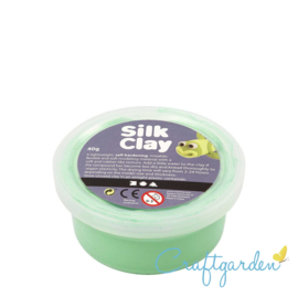 Silk Clay - Basis kleur - groen - 40 gram