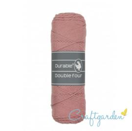 Durable - Double Four - katoen - 100 gram - Vintage pink - 225