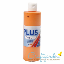 Plus color - acryl - Verf - 250 ml - Pumpkin