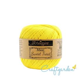 Scheepjes - maxi sweet treat - katoen - 25 gram - Lemon - 280