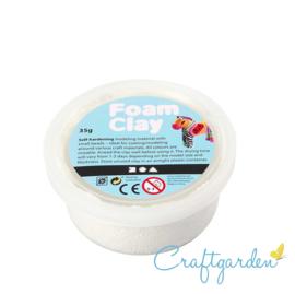 Foam Clay - Basis kleur - wit - 35 gram