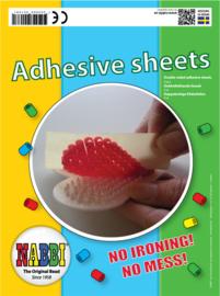 Nabbi - adhesive sheets - plak vellen - 15 x 15 cm