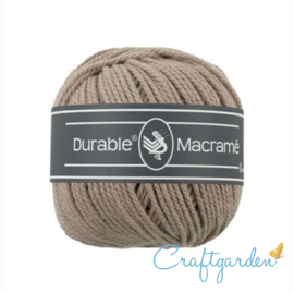 Durable - macramé - taupe - 340