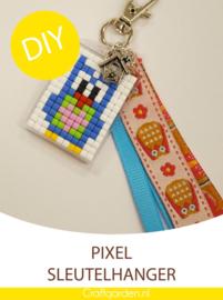 Pixel Hobby - sleutelhanger  -  cadeau pakket - uiltje
