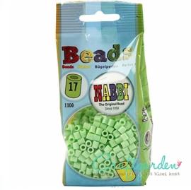 Strijkkralen - Nabbi - kleur - pastel groen - 17