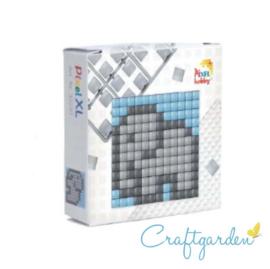Pixel - XL - doosje  - olifant