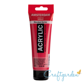 Amsterdam - All Acrylics - 120 ml - permanent - rood - purper- 348