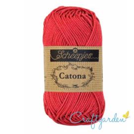 Scheepjes Catona - rosewood - 258  -  50 gram