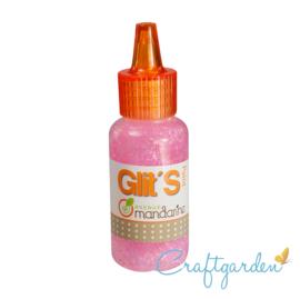 Mandarine - glitterverf -  Roze - 015