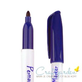Krimpie-dinkie-permanent-marker-doker blauw