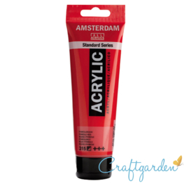 Amsterdam - All Acrylics - 120 ml - pyrrole rood - 315