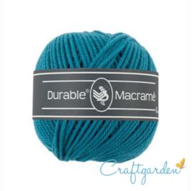 Durable - macramé - turqoise - 371