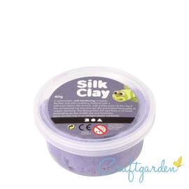 Silk Clay - Basis kleur - paars - 40 gram