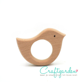 Houten - ring -  Vogel