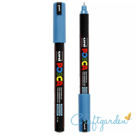 Posca - pc-1mr - metalic  blue  - 0.7 mm