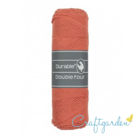 Durable - Double Four - katoen - 100 gram - Coral - 2190