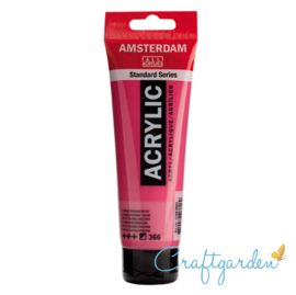 Amsterdam - All Acrylics - 120 ml - quinacridone roze - 366