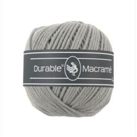 Durable - macramé - licht grijs - 2232