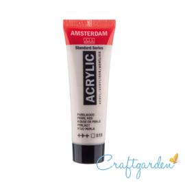 Amsterdam - All Acrylics - 20 ml - Parel rood - 819