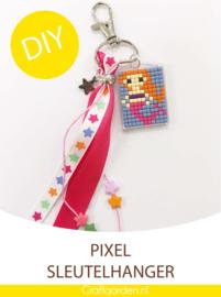 Pixel Hobby - sleutelhanger  -  cadeau pakket - zeemeermin