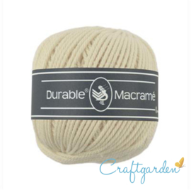 Durable - macramé - creme - 2172