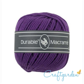 Durable - macramé - violet - 271