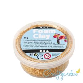 Foam Clay - metallic - goud - 35 gram