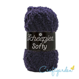 Scheepjes - Softy - donker blauw  - 484