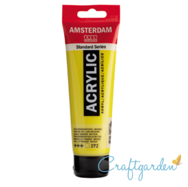 Amsterdam - All Acrylics - 120 ml - transparant - geel - middel - 272