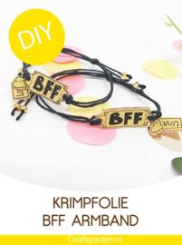 DIY - pakketje - krimpfolie - armbandjes -bff