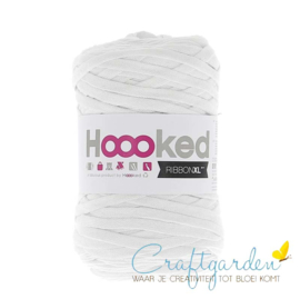 Hoooked-RIBBONXL-250 gram -optic white
