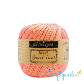 Scheepjes - maxi sweet treat - katoen - 25 gram - light coral - 264
