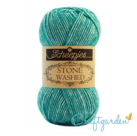 Scheepjes - Stone washed - garen -  Turquoise - 824