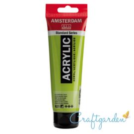 Amsterdam - All Acrylics - 120 ml - olijfgroen - licht - 621