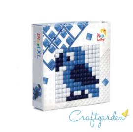 Pixel - XL - doosje  - papegaai