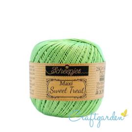 Scheepjes - maxi sweet treat - katoen - 25 gram -  Spring Green - 513