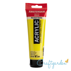 Amsterdam - All Acrylics - 120 ml - azogeel - licht - 268