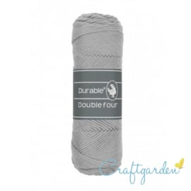 Durable - Double Four - katoen - 100 gram - Light grey - 2232