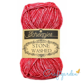 Scheepjes - Stone washed - garen -  Red Jasper -  807