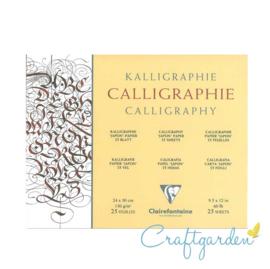 Calligraphie - Japon - papier - 24 x 30 cm - 25 vellen