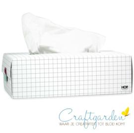 Geruite Tissue box