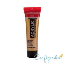 Amsterdam - All Acrylics - 20 ml - Donker goud - 803