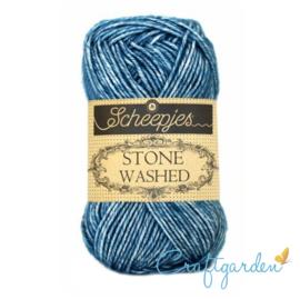 Scheepjes - Stone washed - garen - Blue  Apatite - 805