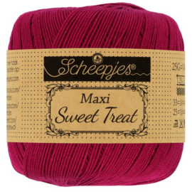 Scheepjes - maxi sweet treat - katoen - 25 gram -  rugby - 517