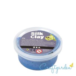 Silk Clay - Basis kleur - Blauw - 40 gram