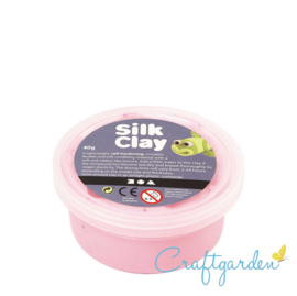 Silk Clay - Basis kleur - licht roze - 40 gram