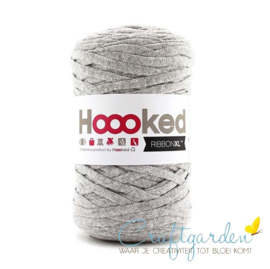 Hoooked-RIBBONXL-250 gram -silver grey