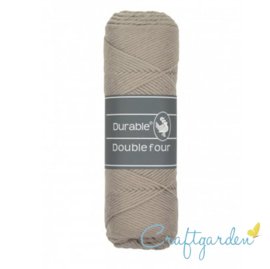 Durable - Double Four - katoen - 100 gram - Taupe - 340